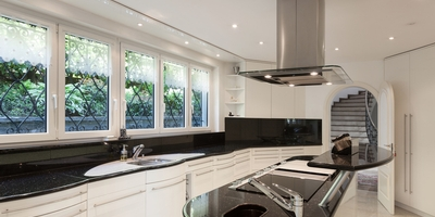 modern style kitchen Klamco | Home Remodeling by Klam Construction