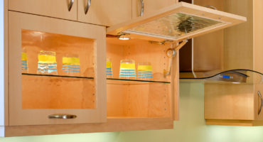 kitchen flip up cabinet doors Klamco interior home remodeling wi | Home Remodeling by Klam Construction