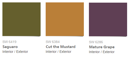 accent colors taupe green must