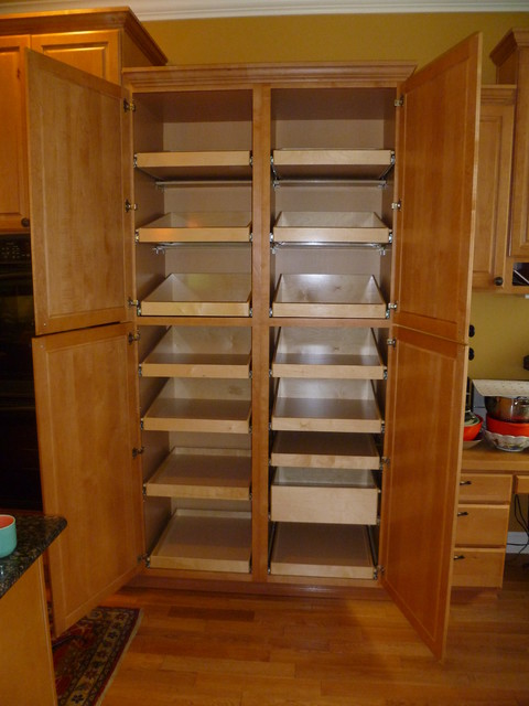 kitchen pull-out cabinet organizers kitchen slide out drawers
