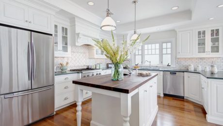light-beautiful-kitchen maximize kitchen space Klamco interior home remodeling, kitchen remodeling