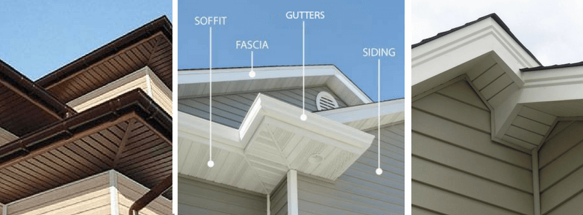 soffit and fascia exterior roofing and home remodeling by Horizon Exteriors, LLC