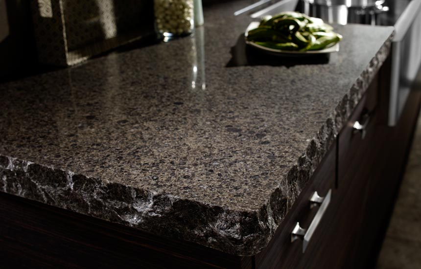 quartz countertop by Klamco | Home Remodeling by Klam Construction