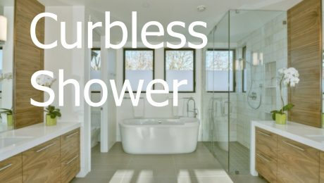curbless shower hot trend bathroom remodeling 2017 by Klamco