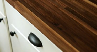 beautiful wood walnut butcher block countertops by Klamco | Home Remodeling by Klam Construction