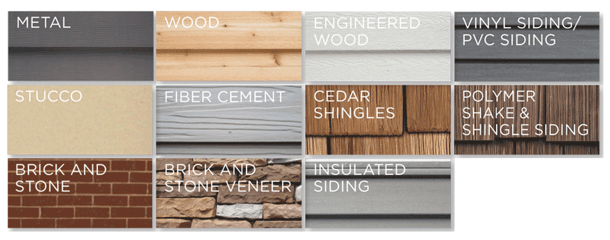 Different Types of Siding for Your Home • Klam Construction | Klamco