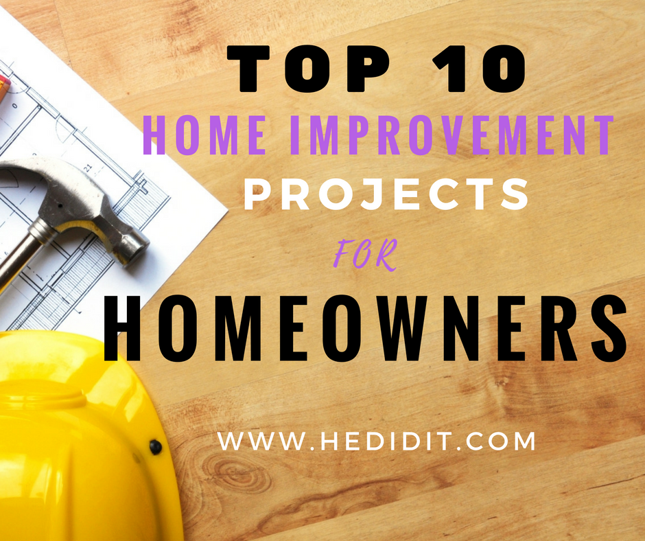 Best Value Home Improvements: Top 10 Home Improvement Projects That Increase Appeal And